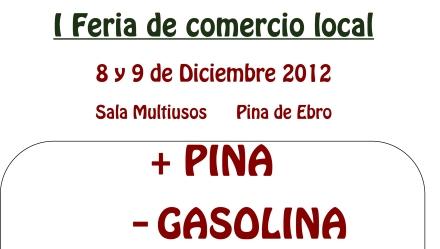 Cartel I Feria Pina