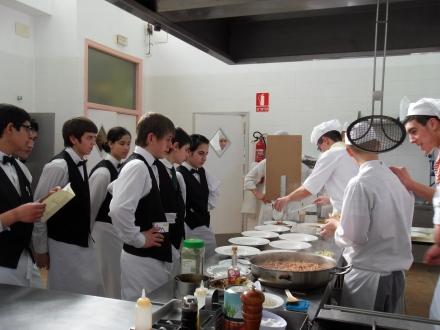 Alumnos hostelería. Archivo: Gobierno de Aragón