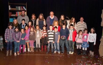 Foto de los ganadores de 2012