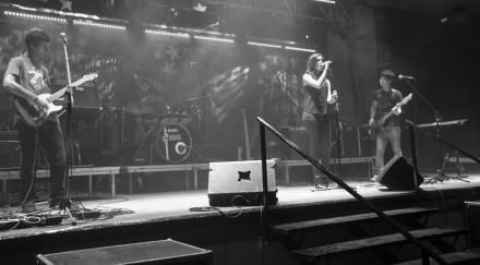 Concierto de IO2 en el Jaja Rock de Sástago. Abril 2013.