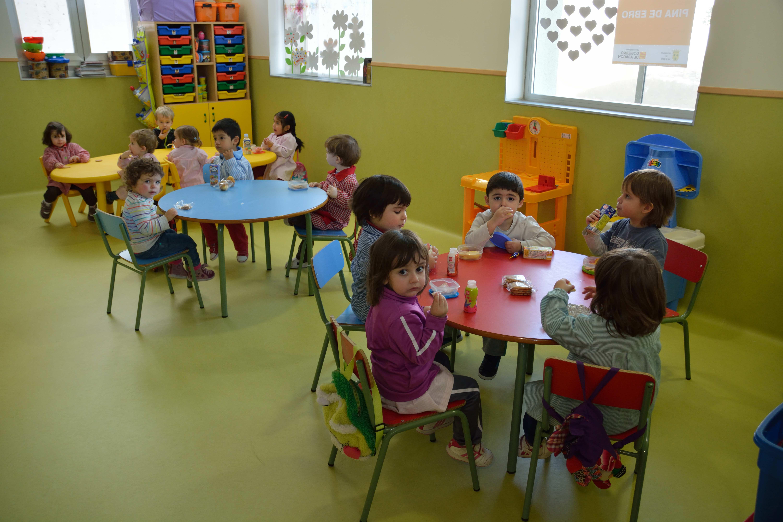 Las nuevas instalaciones de la escuela infantil de pina for Dependencias de la escuela